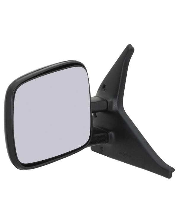 Door Mirror Left Hand Non Heated Manual Door Mirror for Left Hand Drive