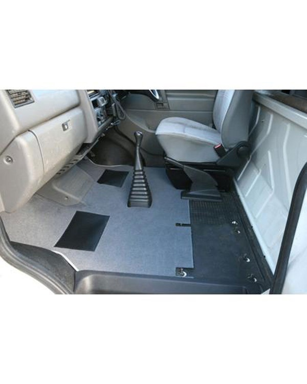 Cab Floor Carpet for Left Hand Drive Black Short Type