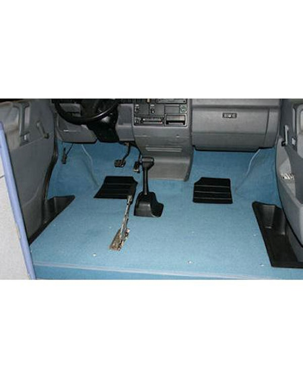 Cab Floor Carpet for Left Hand Drive Specify color Long Type with Arch Under Felt