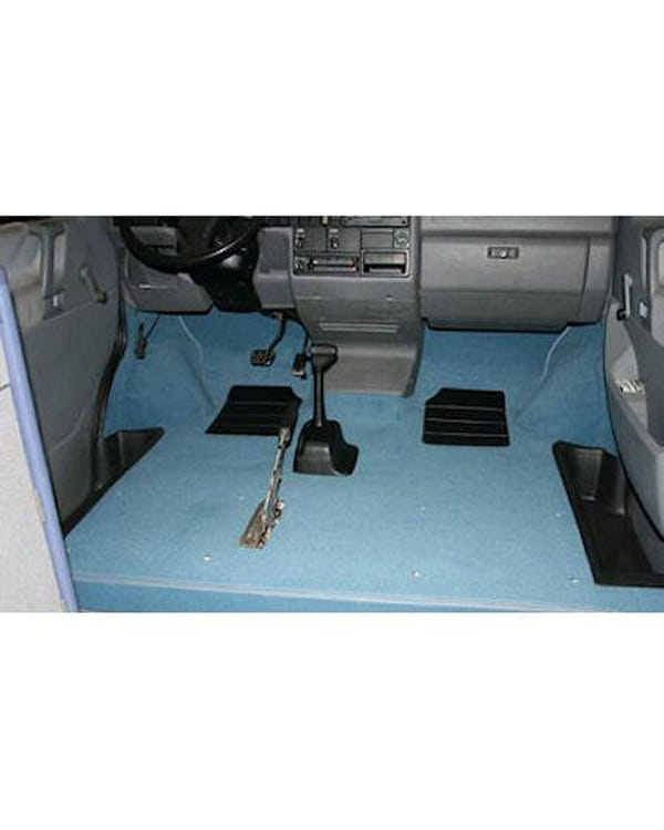 Cab Floor Carpet for Left Hand Drive Specify Colour Long Type with Arch Under Felt