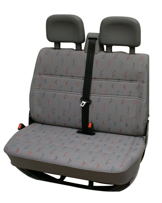 Seat Cover for Bench Seat in Inca Cloth