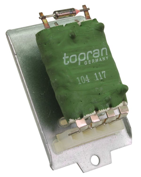 Heater Blower Resistor for Models with Air Conditioning