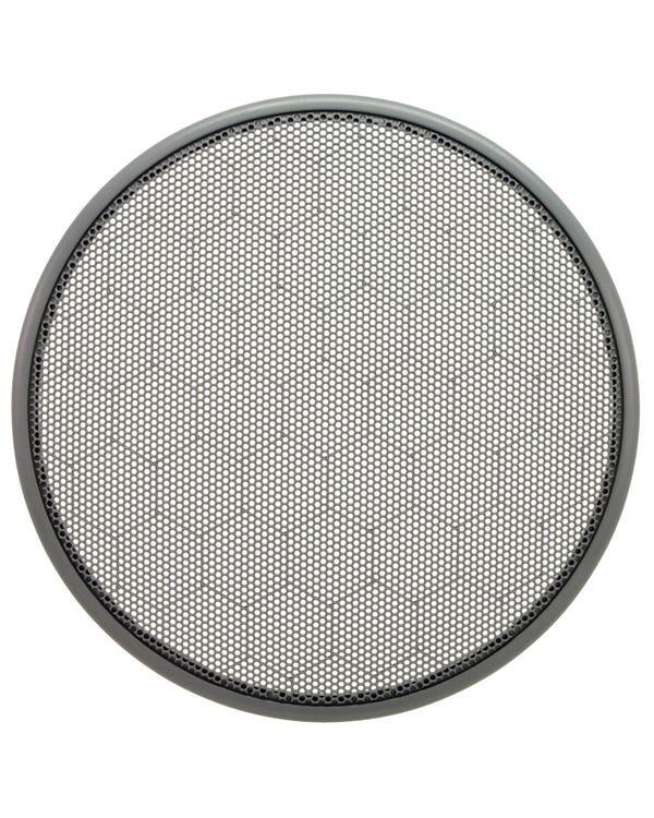 Lautsprecherverkleidung, Türstaufach, vorne, in Grau
