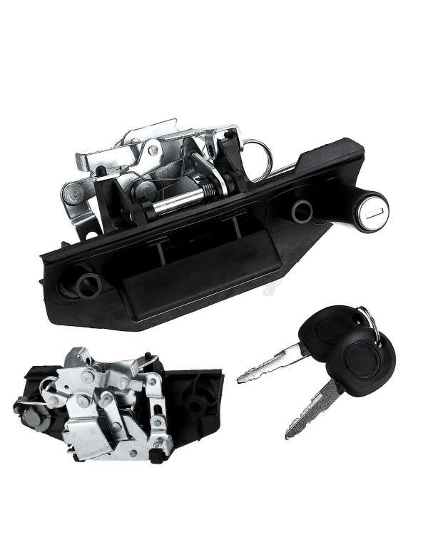 Heckklappengriff mit Schlüssel