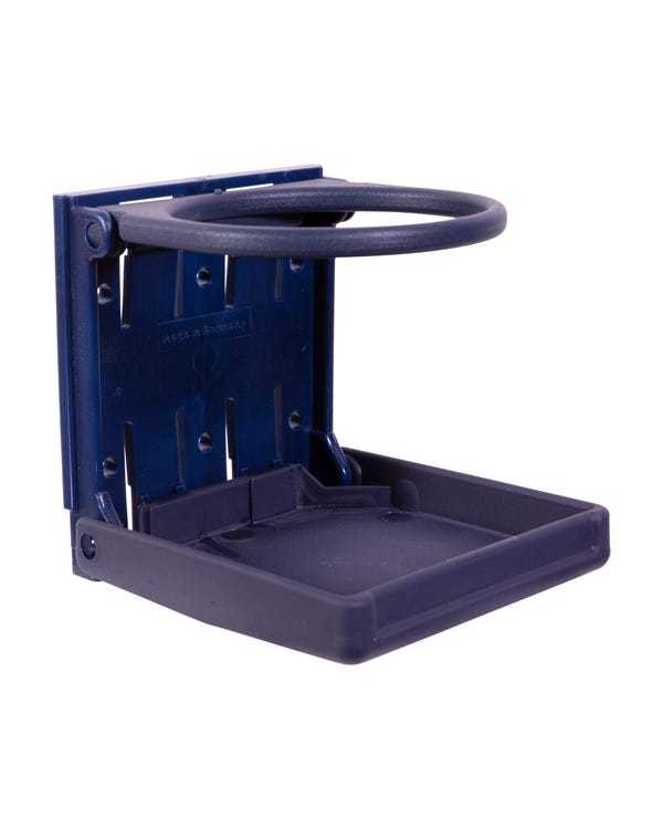 Foldable Drinks Cup Holder Blue