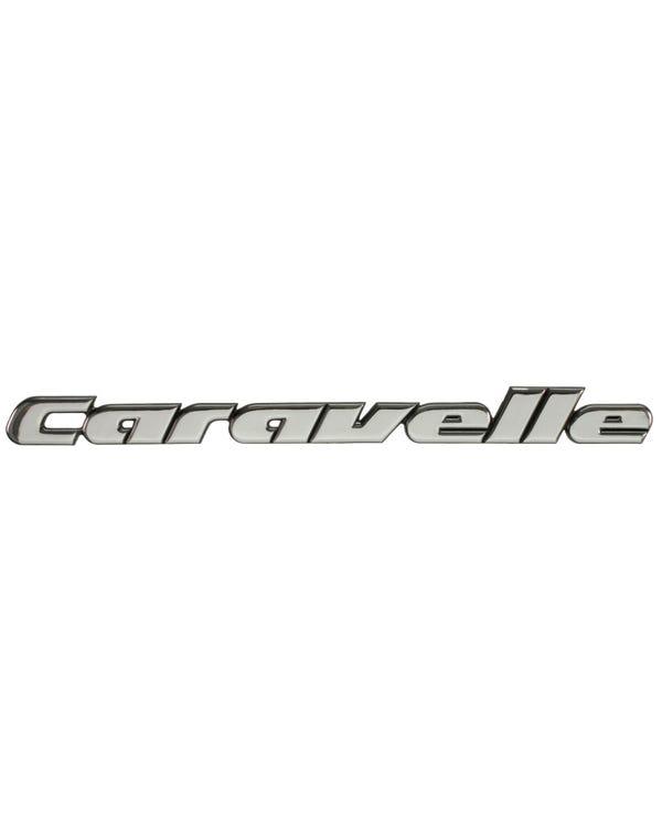 Chrome Caravelle rear Badge