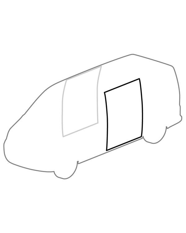 Sliding Door Aperture Seal for Left and Right Side Door