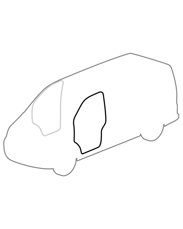Outer Cab Door Seal for the Left Side