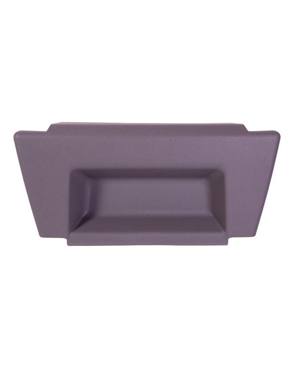 Seat Base Cover Trim, Grey. Single Seat