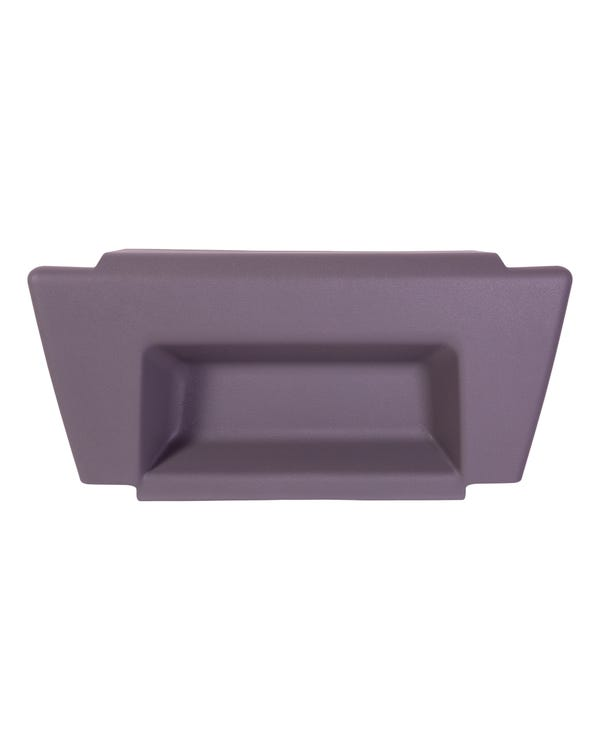 Seat Base Cover Trim, Grey. Single Seat