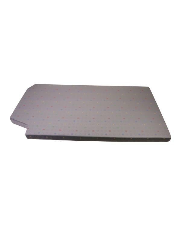 Bed Shelf Padding Flannel Grey