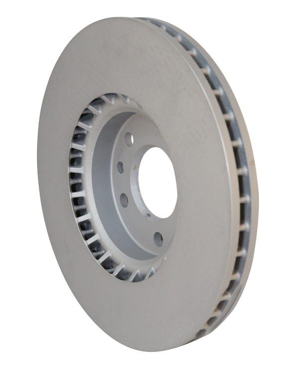 Pareja de discos de freno delantero ventilados de 340x32,5mm