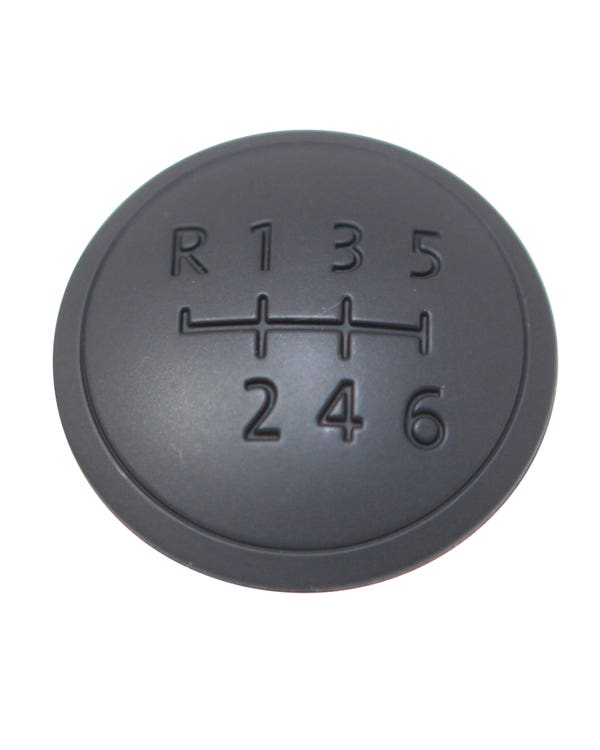 Gear knob Badge with the Gearshift Pattern for 6 Speed
