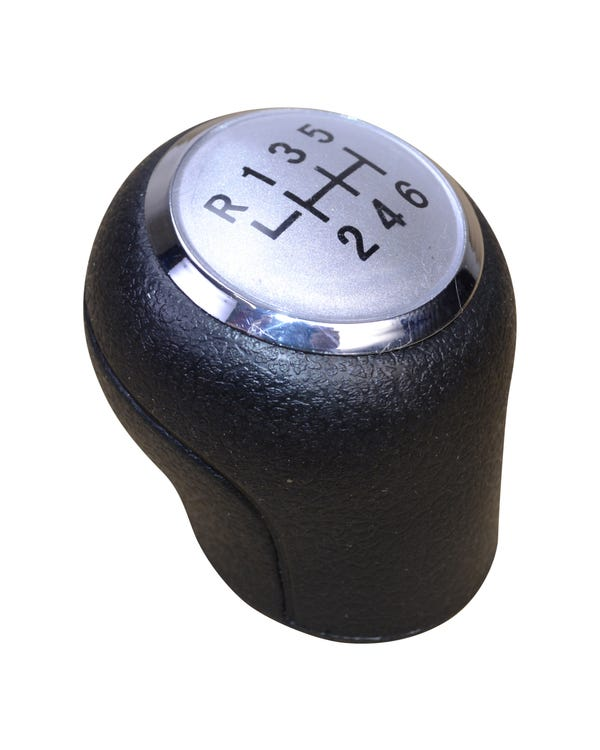 Gear Knob for 6 Speed in Silver