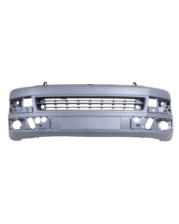 Front Bumper, Fog Holes Graphite/Grey T5.1 Facelift