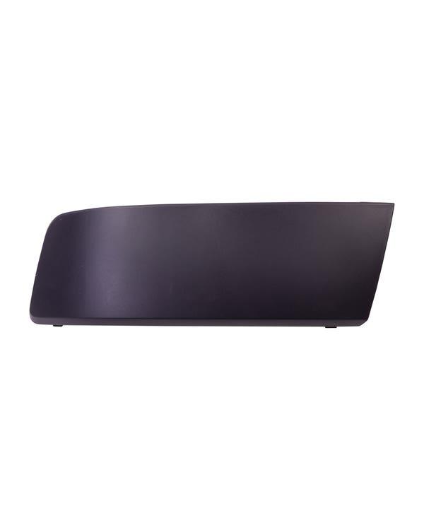 Front Bumper Moulding, No Park Sensor Hole, Graphite, Left, T5.1 Facelift