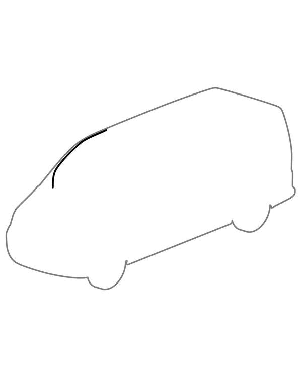Right Upper Cab Door Seal