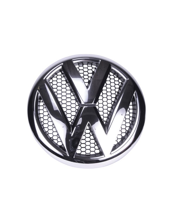 Chrome VW Emblem for the Front Grille