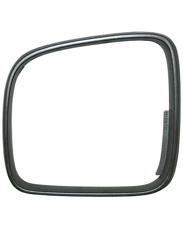 fender Mirror Bezel, Left, Black, Left Hand Drive