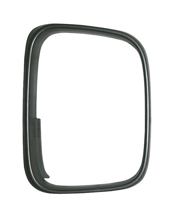 fender Mirror Bezel, Right, Black, Left Hand Drive