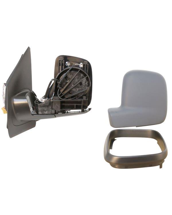 Retrovisor izquierdo plegable de puerta con base con ajuste eléctrico y retrovisor calefactado para modelos con el volante a la izquierda