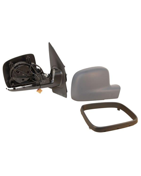 Retrovisor derecho plegable de puerta con base con ajuste eléctrico y retrovisor calefactado para modelos con el volante a la izquierda