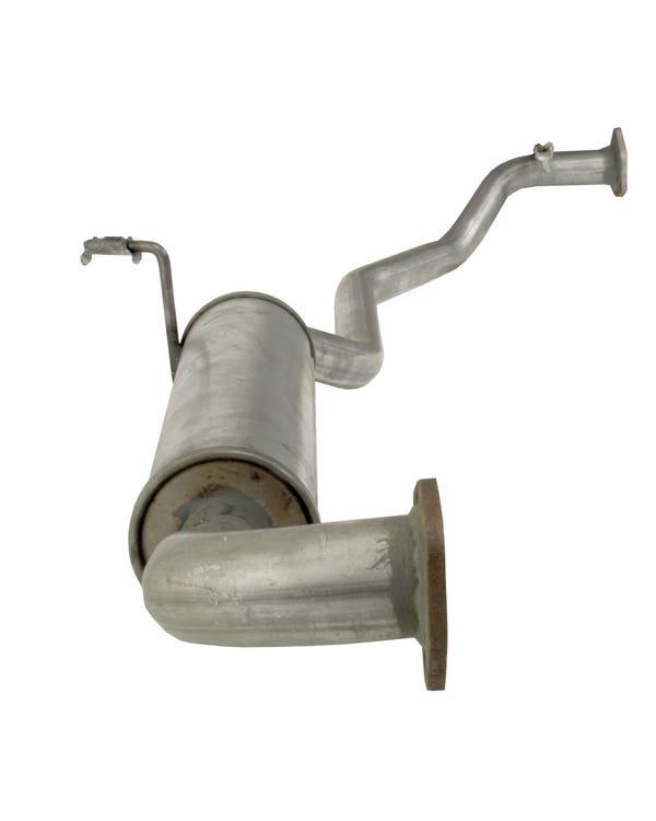 Exhaust Rear Silencer Left