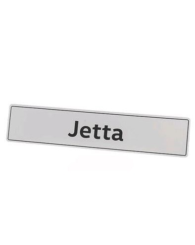 VW Showroom Style Jetta Number Plate
