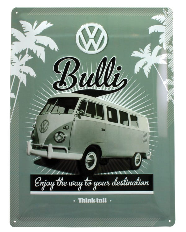 Metal Sign Bulli Enjoy The Way To Your Destination