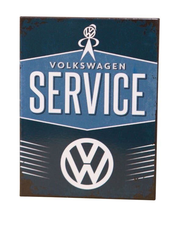 Volkswagen Service Fridge Magnet