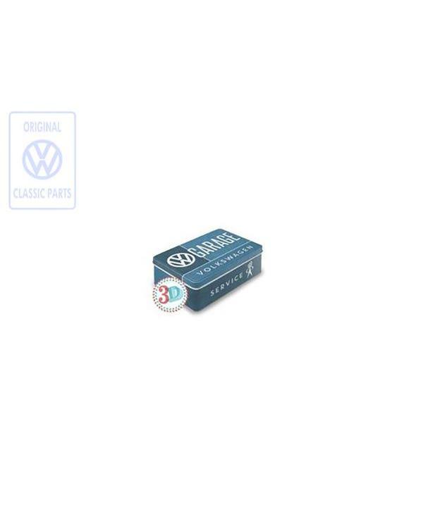 Volkswagen Garage Metal Tin