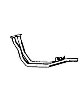 Exhaust Front Pipe for Gas Heated Inlet Manifold 1.0-1.3