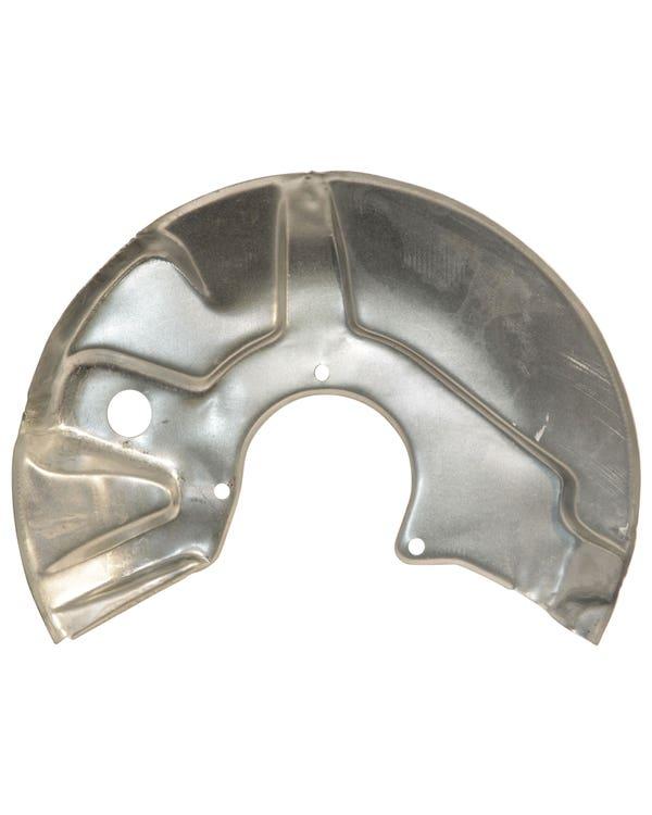 Front Brake Rotor Backing Plate Left