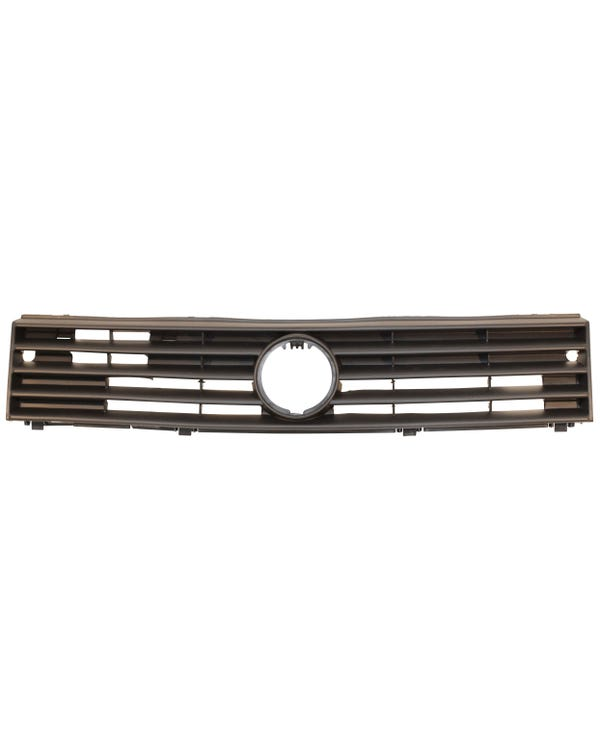 Front Grille with Hole for Badge Black