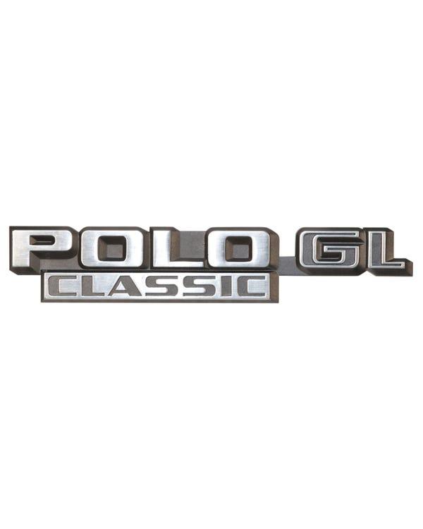 Rear Badge - Polo GL Classic Script
