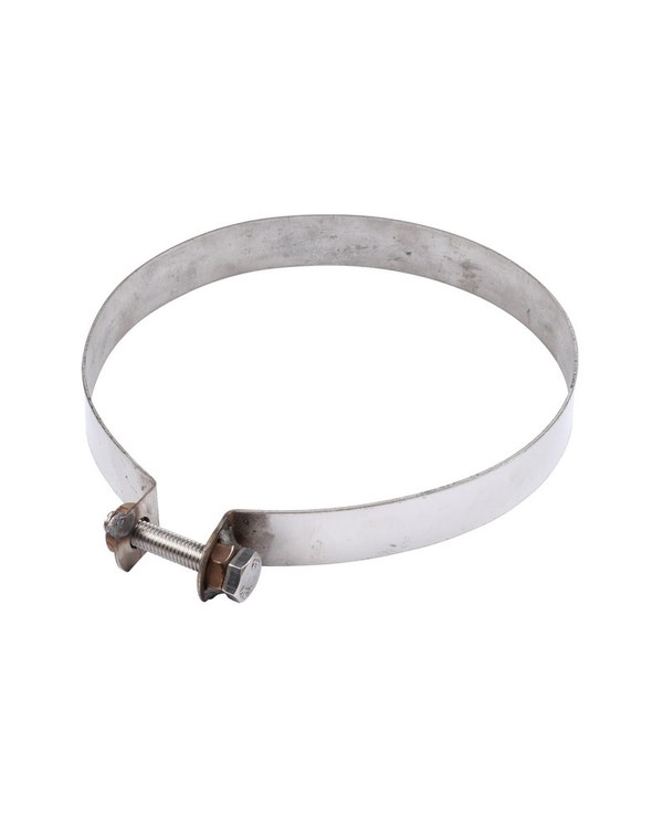 Exhaust Silencer Strap, Stainless Steel