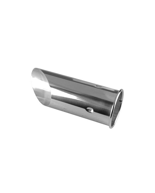 Exhaust Tailpipe Tip, Chrome