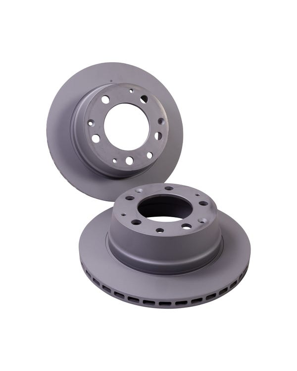 Brake Rotors Rear Pair