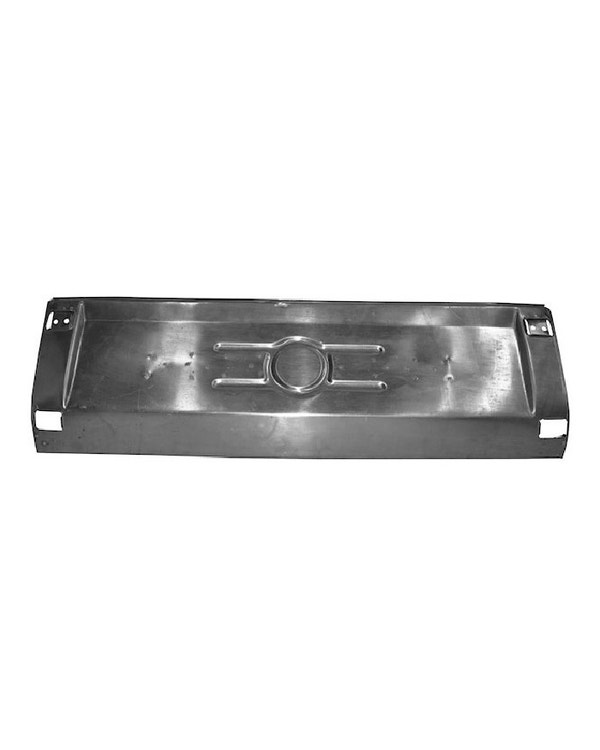 Sección central paragolpes trasero en aluminio
