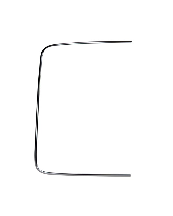 Rear Screen Chrome Moulding, Coupe, Left