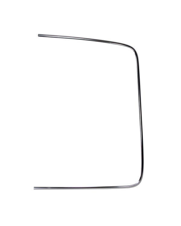 Rear Screen Chrome Moulding, Coupe, Right