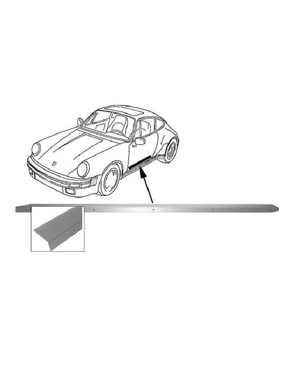 Innerer Einstiegsleistenschutz links, Aluminium