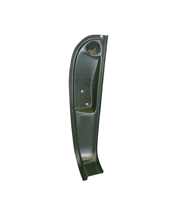 Door Lock Striker Panel / B Post Right