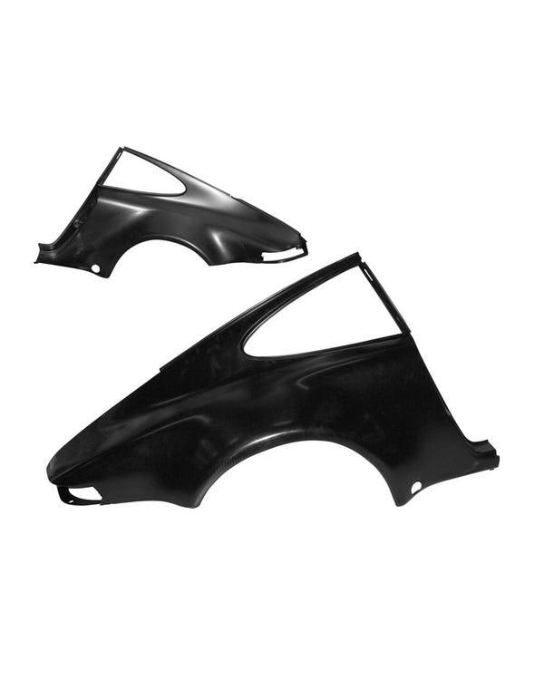 Panel lateral trasero derecho. modelo coupe ancho