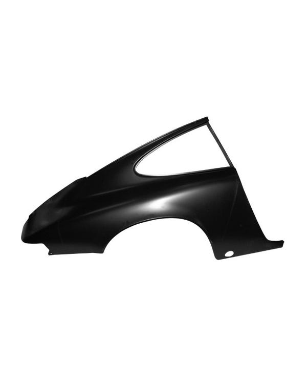 Rear Quarter Panel Skin, Coupe, Right