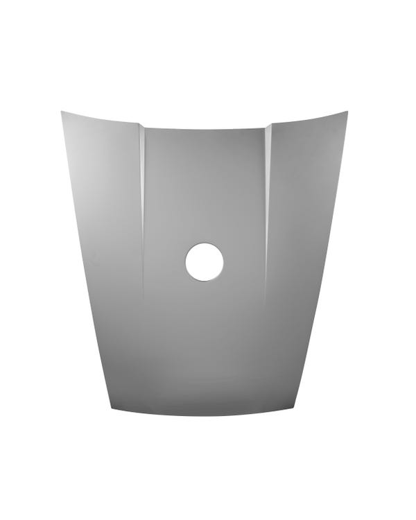 Aluminum Front Hood with Fuel Filler Hole RSR Look