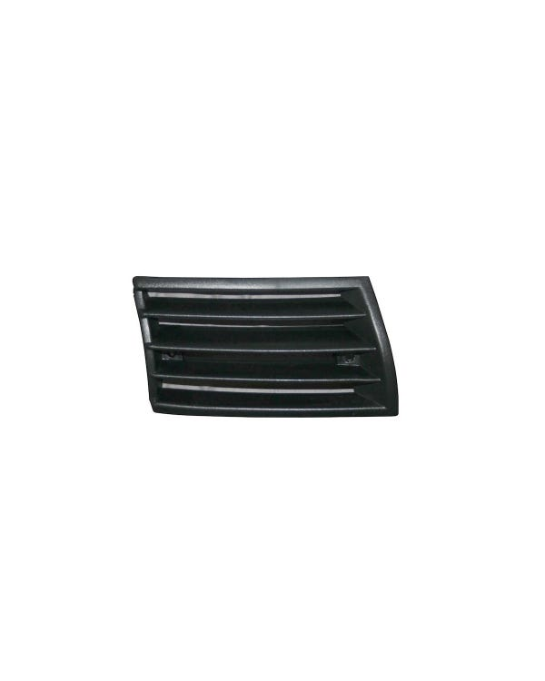 Horn Grille, Black Plastic, Right