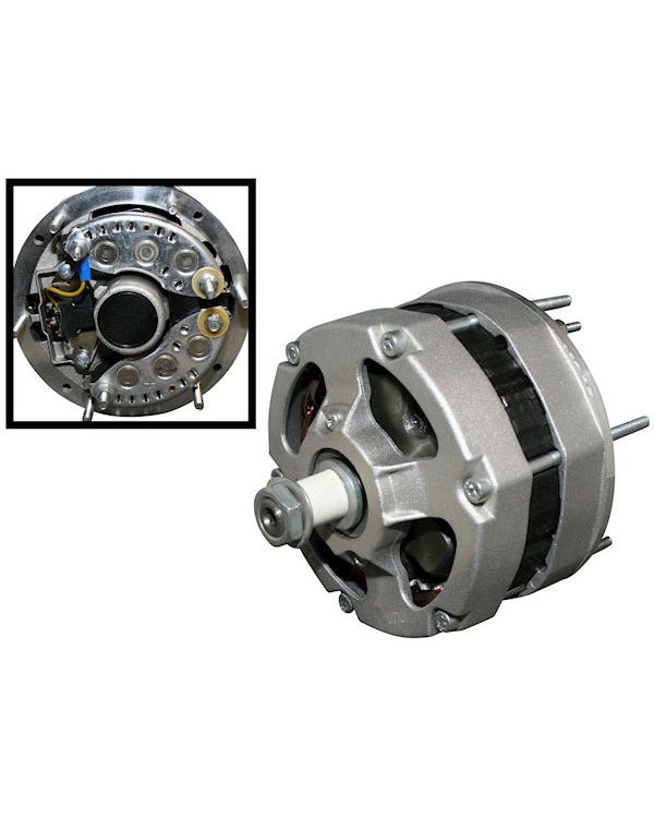 Alternador con regulador externo