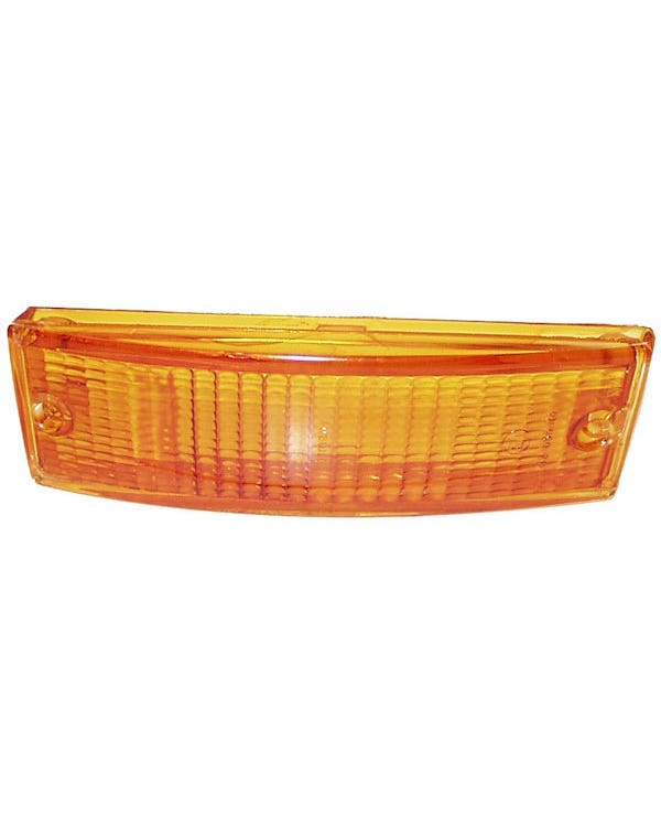 Front Indicator Lens Amber