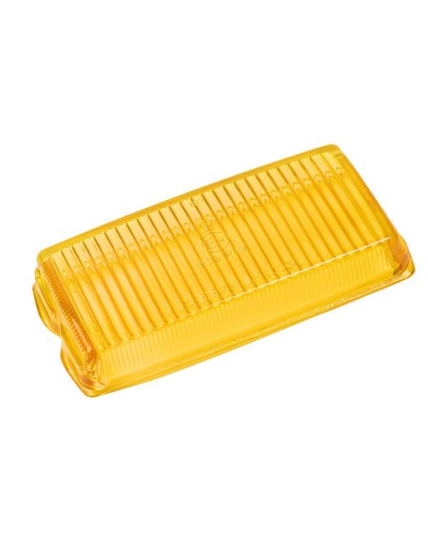 Nebelscheinwerferglas, gelb